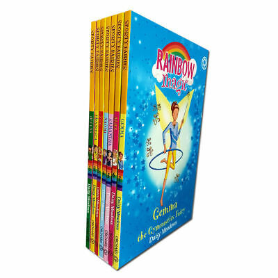 Rainbow Magic Series 9 The Sporty Fairies Collection 7 Books Box Set Pack(57-63)