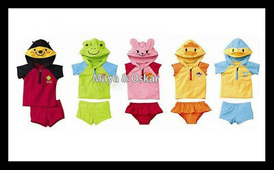 BABY TODDLER KIDS BIKINI ANIMAL SWIMSUIT SWIMMING COSTUME WETSUIT SUNSUIT 18m-6y