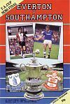 * 1984 FA CUP SEMI-FINAL - EVERTON v SOUTHAMPTON *