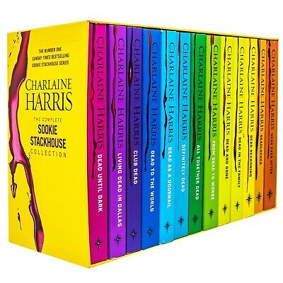 True Blood Box Gift Set Sookie Stackhouse 10 Books Charlaine Harris Collection