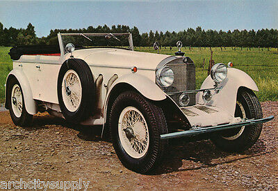 Poster - 1929 Mercedes Type Ss Free Shipping !    #31   Lw4 J