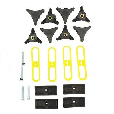 T-Slot T-track Jig Kit for Fences and Miter Gauge includes 8 Knobs & Hardware