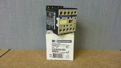 Telemecanique Control Relay CA3KN31BD 10A 24VDC New (6739)