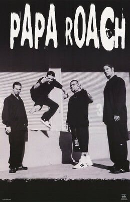 POSTER - PAPA ROACH  (#2)   IN B/W     - FREE  SHIPPING !       #6544 RC16 F