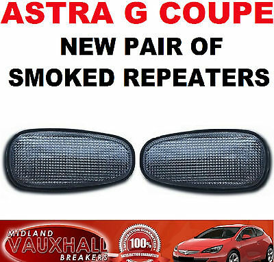 Vauxhall Astra G Coupe Convertible Bertone Pair Smoked Side Repeaters Indicators