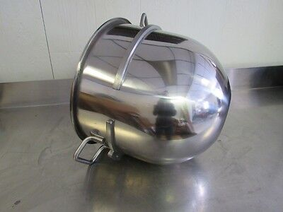 New 30qt Stainless Steel Bowl for Hobart Mixers