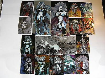 Lady Death III 3 90 Card Set 1996 from Krome Productions