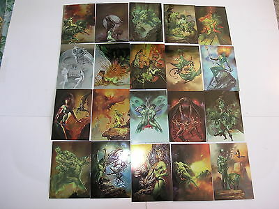 Best of Boris  Chromium 1995 Comic Images Set of 90 Cards