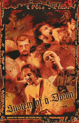 Poster : Music : System Of A Down - Collage - Free Shipping ! #9080  Rc31 E