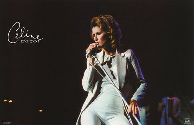 Poster : Music : Celine Dion  In Concert        Free Shipping !   #9015   Rc45 E