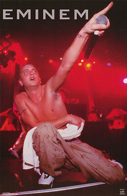 Poster: Music:  Eminem  Live   Free Shipping !  #6528 Lc2 F
