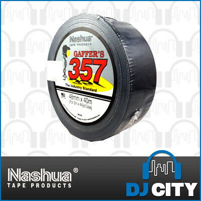 Nashua Gaffer Tape Black 48Mm X 40M