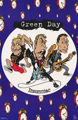 Poster :music : Green Day - Insomniac -   Free Shipping ! #  #6504  Rc51 D