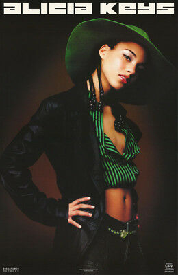 Poster - Music - Alicia Keys   -  Free Shipping !  #9058  Lc1 H