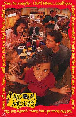 Poster:tv: Malcolm In The Middle -  Frankie Muniz - Free Shipping ! #3506 Lp33 J