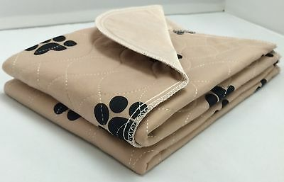 12-24x24 washable reusable dog training puppy pee pads reusable piddle pads