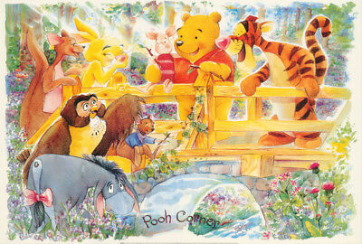 WINNIE THE POOH POSTER Under the Rain RARE HOT NEW 1218