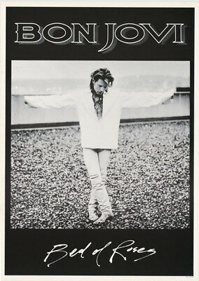 Poster : Music: Bon Jovi - Bed Of Roses  -  Free Shipping !   Rc21 R