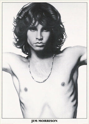 Poster:music:  Doors - Jim Morrison - Bare Chest- Free Shipping !  #pr3059 Lw4 Q