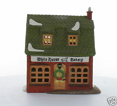 White Horse Bakery 1988 #59269 Retired Department 56 Dickens' Village Series