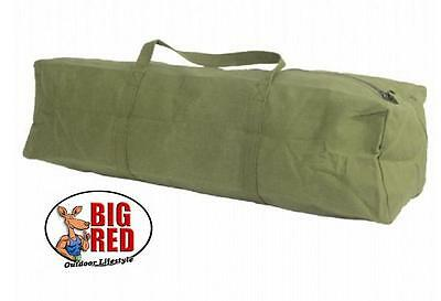 TENT PEG & GUY ROPE BAG Extra Large 600mm long -  HEAVY DUTY - 14 oz. CANVAS