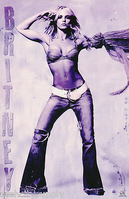Poster :music : Young Britney Spears - Dance -  Free Shipping ! #9059    Rc7 V