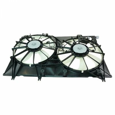 Radiator Dual Cooling Fan Assembly 1636120250 for 08-10 Toyota Highlander Hybrid