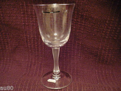LALIQUE Crystal  BARSAC Bordeaux wine glass signed NWT!! NO BOX Gorgeous!!