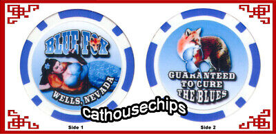 Blue Fox Wells,  Nevada Legal Brothel Collectors Chip Cathouse Whore House