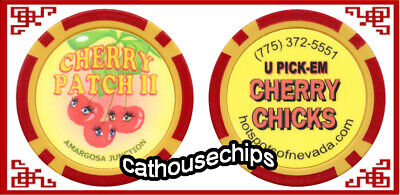 Cherry Patch 2 AMARGOSA JUNCTION Legal Nevada Brothel Collectors Chip