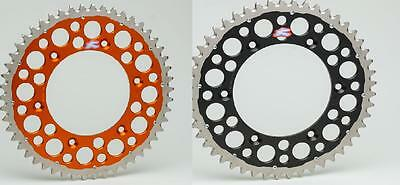 Renthal Twinring Rear Sprocket Orange Black KTM SX SXF EXC 125 200 250 450 500