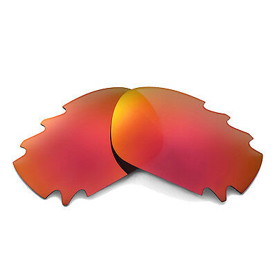 New Walleva Polarized Fire Red Vented Lenses For Oakley Jawbone