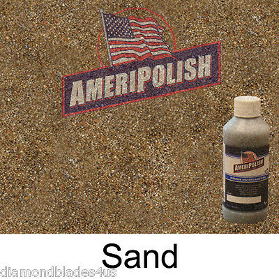 1 GL. Sand CONCRETE COLOR DYE 4 CEMENT, STAIN AMERIPOLISH Solvent based
