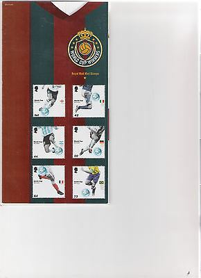 2006 Royal Mail Presentation Pack World Cup Winners Mint Decimal Stamps