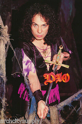 Poster:music: Dio - Holding Sword 1984     -    Free Shipping !   Lw15 F
