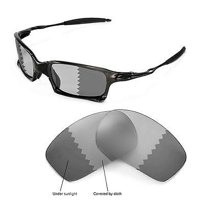 oakley gascan with american flag 5l8g  New Walleva Polarized Transition/Photochromic Lenses For Oakley X-Squared