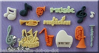 Music Silicone Cake Decorating Mould by Alphabet Moulds