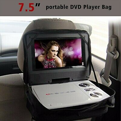 """New 7"""" 7.5"""" Portable DVD player Bags Case for Car Headrest Mount"""