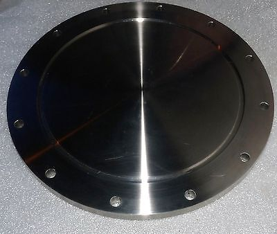 NEW STAINLESS STEEL BLANK BLIND BOLTED FLANGE 12 BOLT HOLE NW-250 ISO-LF