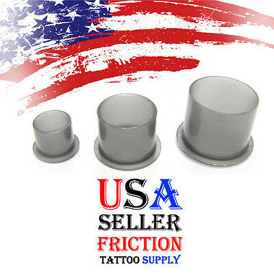 Large 500 Stable Base Plastic Top Hat Ink Caps 18mm
