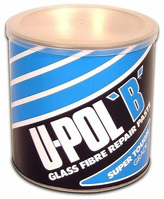 U-POL B Glass Fibre Bridging Compound No.4 1.85L Body Filler UPOL