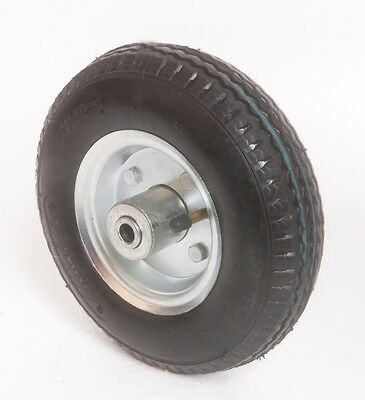 8 inch pneumatic tire air filled center hub wheel