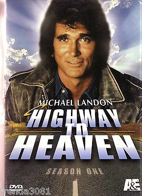 Highway To Heaven Complete First Season 7 Disc Set Classic Family MICHAEL LANDON