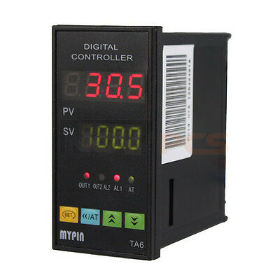 Digital PID Temperature Controller TA6-SNR + K type thermocouple Sensor SSR-25DA