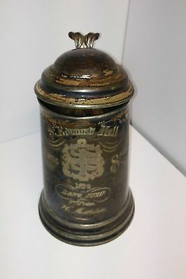 Genuine 1870 Silver James Dickson  Son's Award Beer Stein. Highly Collectable