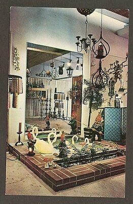 Postcard:  Flynn's Candle Shop - Mission Valley Center, San Diego, California