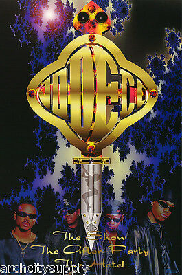 Poster : Music : Jodeci  1995 - The Show -  Free Shipping !  #8245        Lw24 S