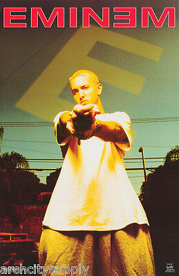 Poster : Music: Rap : Eminem  -  Gold              Free Shipping !  #6596  Lw9 N