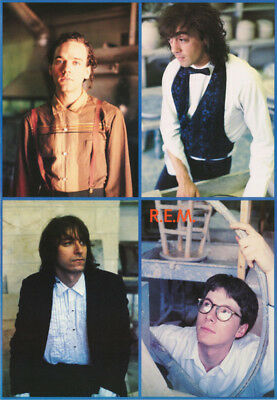 Poster : Music : R.e.m.  - 1987   Montage  -  Free Shipping ! #nmp37  Rbw4 R