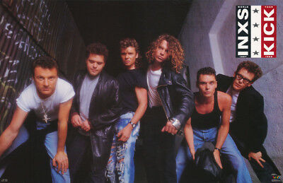 Poster : Music :  Inxs - Kick - All 6 Posed  - Free Shipping !  #3161    Rbw3 G